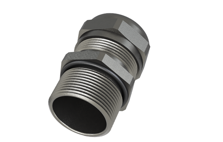 Picture for category Standard Cable Glands with Thread, Stainless Steel