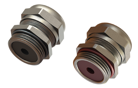 Picture for category Double Seal Cable Glands, Compact Design, Brass