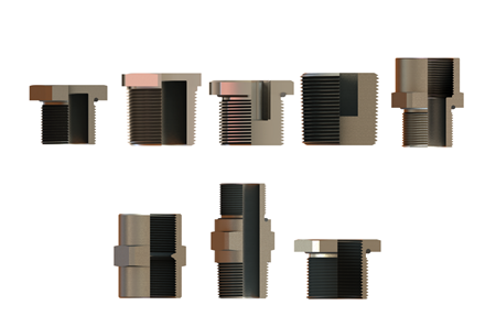 Picture for category Adaptors and Plugs (Metal)